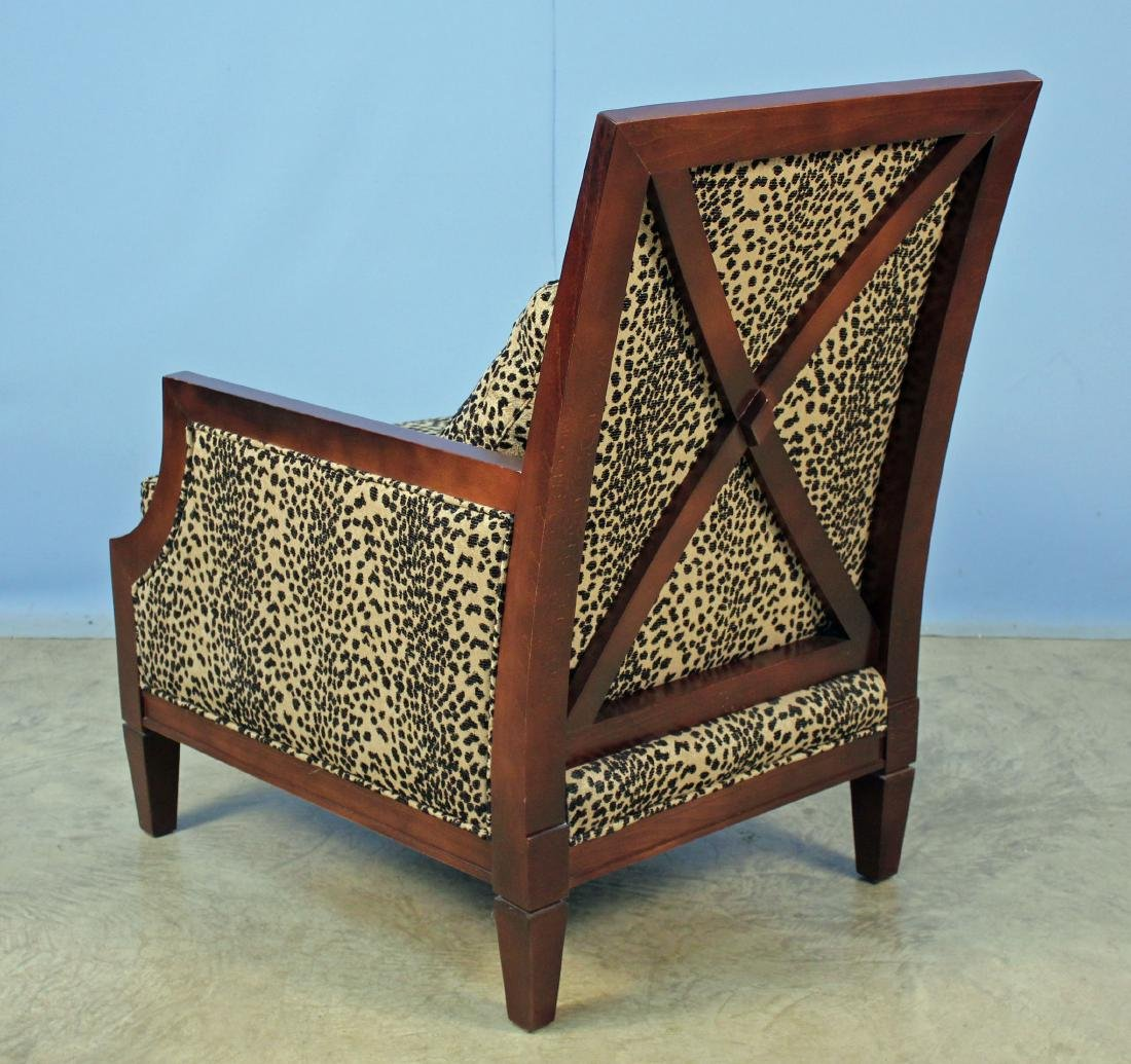 Pair Sam Moore French Moderne Living Room Chairs - 3