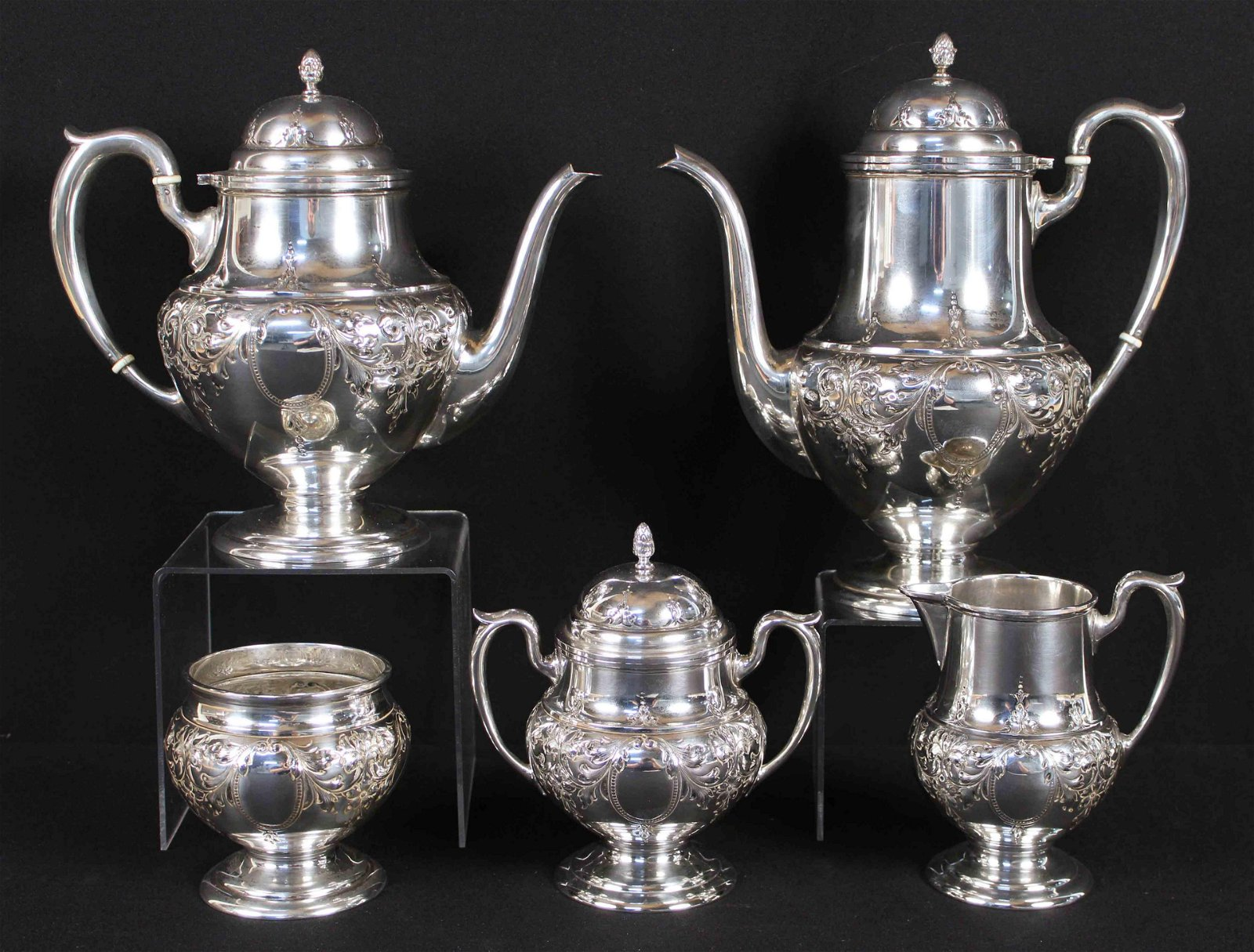 M. Fred Hirsch Co. Sterling Silver Tea Service