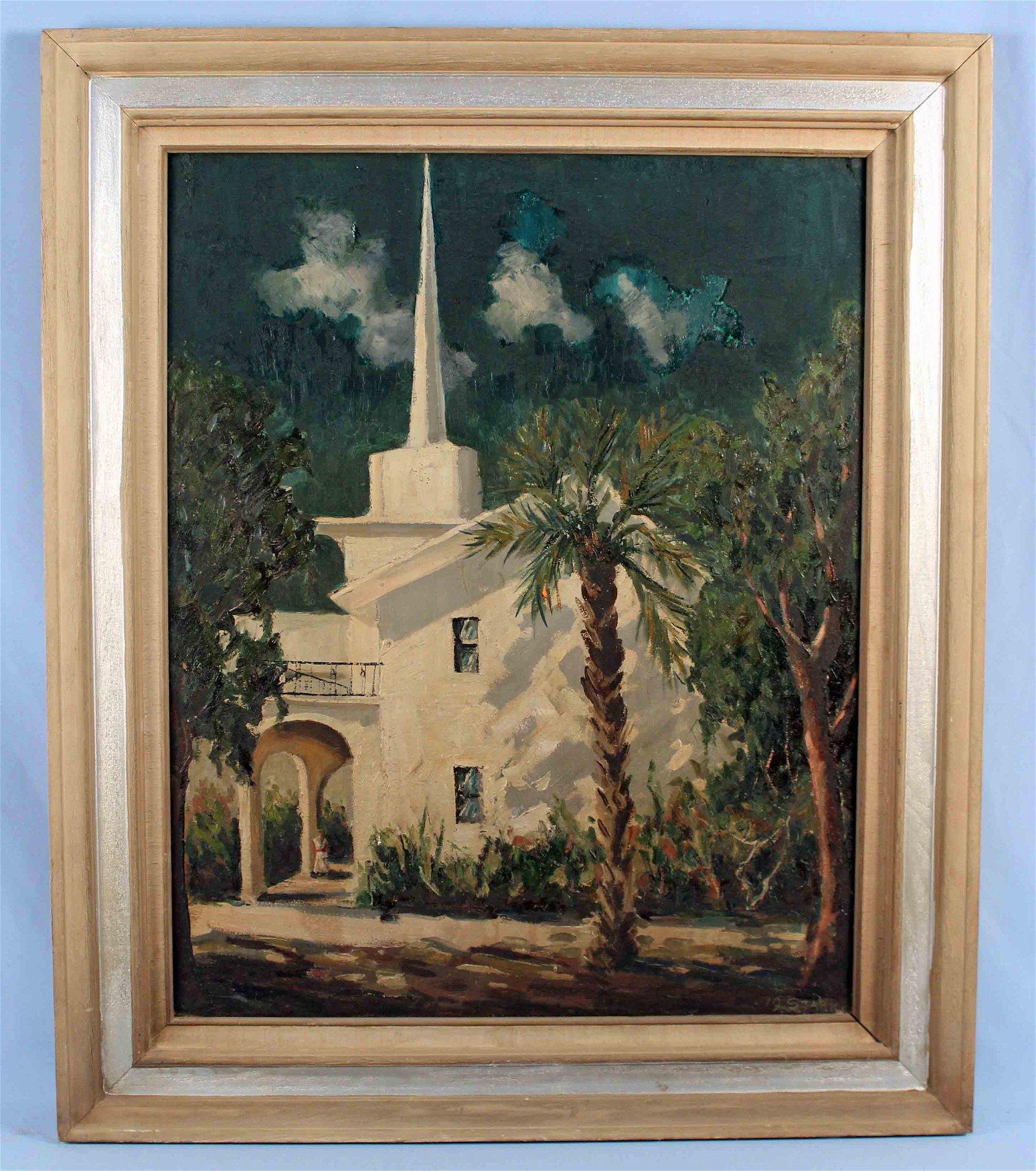 Mel Stark (1903 - 1987) Chapel Longboat Key O/B