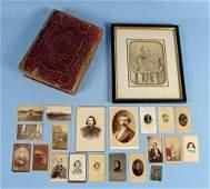 19th C. Photos Incl. Civil War Officers