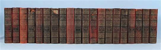 Complete Twenty Vol Set of Famous Literature