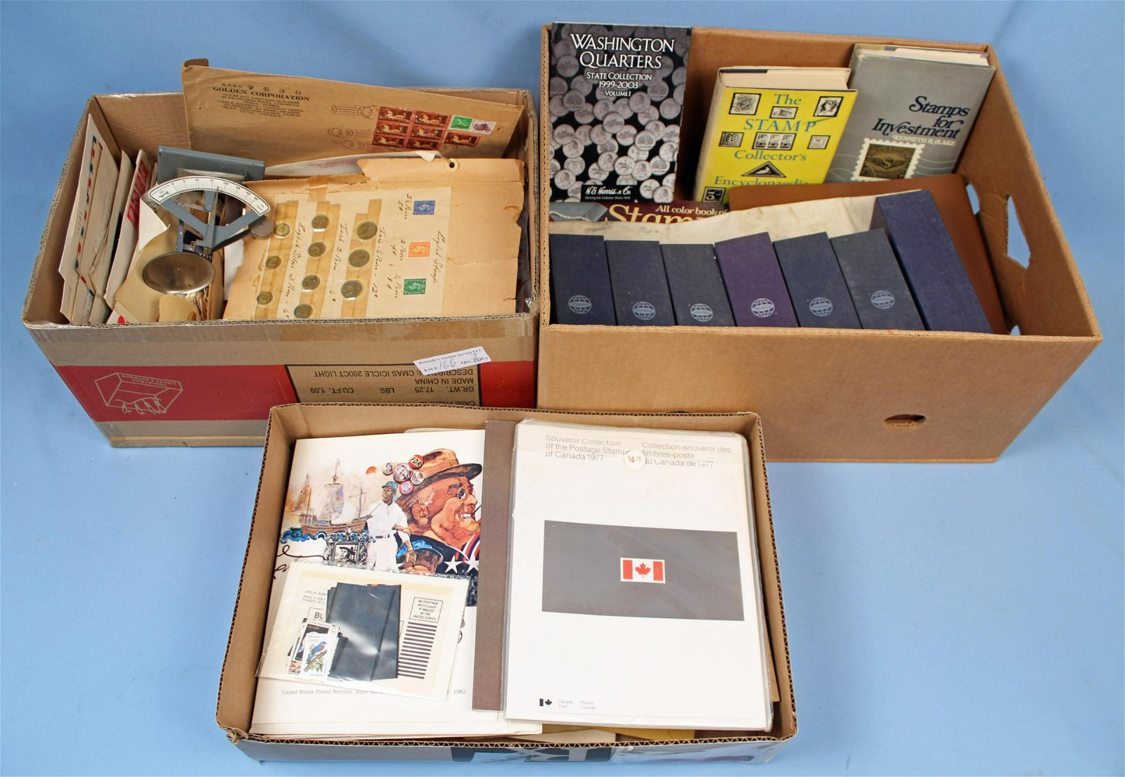 Large Collection of Postage & Collector Stamps