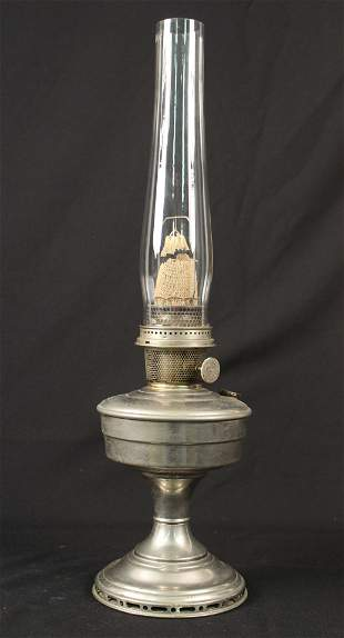 Aladdin Model 12 Nickel Plated Lamp