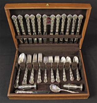 Reed & Barton Tara Sterling Silver 49 Pcs. Set