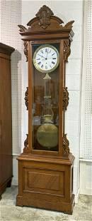 Ansonia #15 Standing Jewelers Regulator Clock