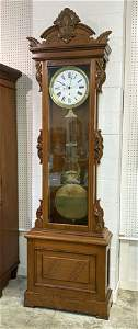 Ansonia #15 Standing Jewelers Regulator Clock