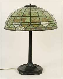 "Tiffany Studios, NY ""Colonial"" Table Lamp"