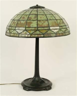 """Tiffany Studios, NY """"Colonial"""" Table Lamp"""