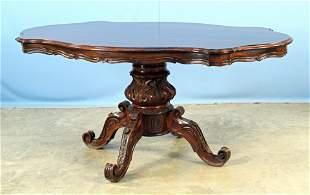 Victorian Mahogany 19th C. Dining Table