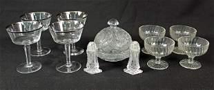 Group of Glassware Lenox, Anchor Hocking, Etc.