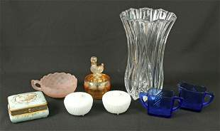 Mixed Group of Glassware and Porcelain