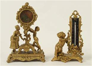 Waterberry Novelty Clock & Victorian Thermometer