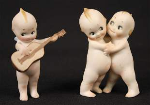 Rose O'Neill German Kewpie Bisque Figures