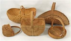 5 Handmade Baskets w/ Jesse Butcher (1915-1996)