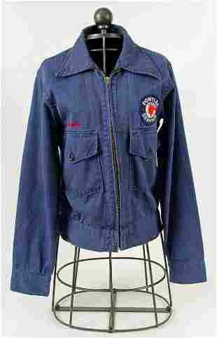 Circa 1961 Pontiac Service Herringbone Jacket