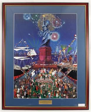 Melanie Taylor Kent Statue of Liberty Lmtd. Print