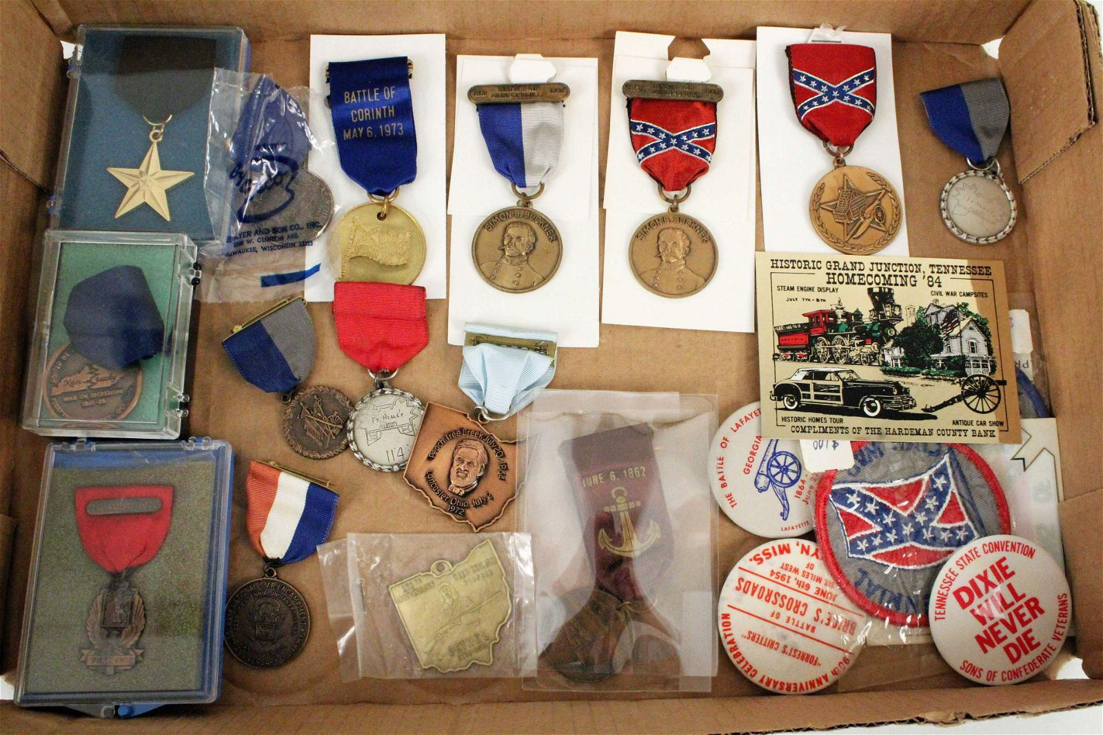 Group of Commemorative Civil War Medals
