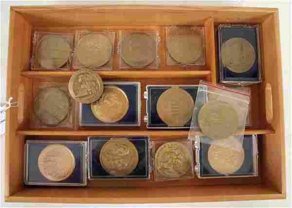 15 Civil War Commemorative Medals