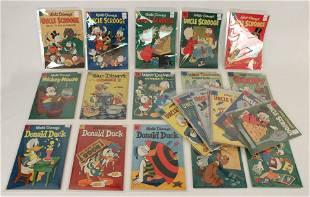 27 Walt Disney 10 Cent Comic Books