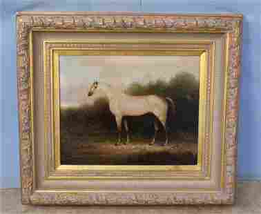 Modern Decorator Horse Painting on Canvas