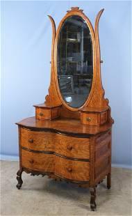 Quarter Sawn Oak Princess Dresser