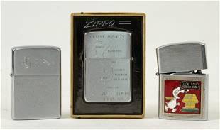 Three Collectible Lighters, Zippo Vietnam, Etc.