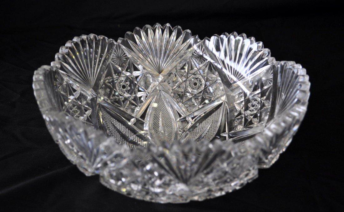 4: Cut Glass Bowl