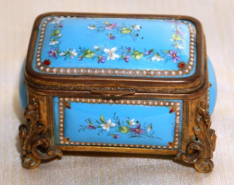 20: Jeweled Sevres Jewelry Box