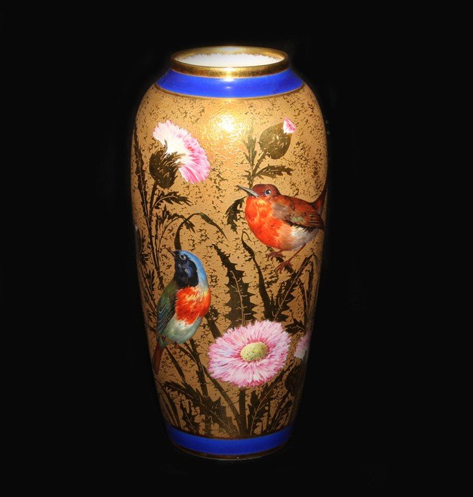 24: Fine Gilt on Gilt Limoge Vase