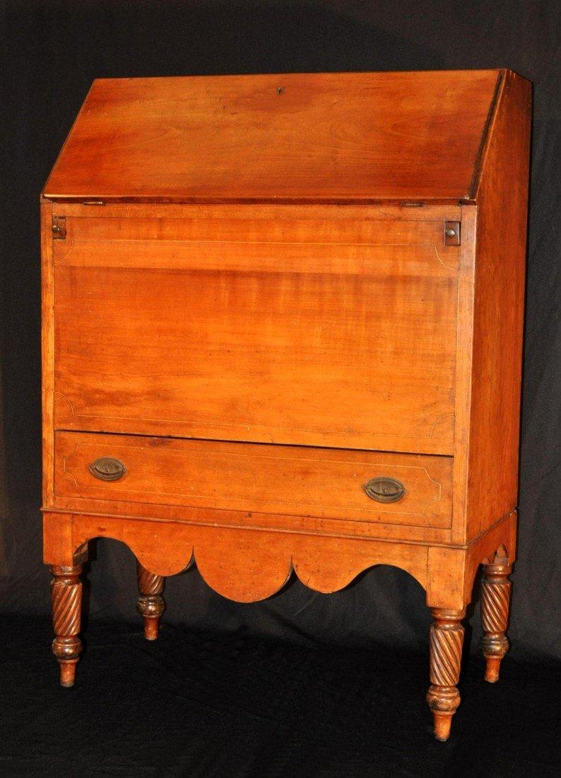 201: Rare Classical Kentucky Cherry Sugar Desk
