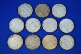 4: 11 - Peace Silver Dollars, 1920`s