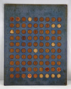 12: 80 Lincoln Cent Collection 1909-1939 D