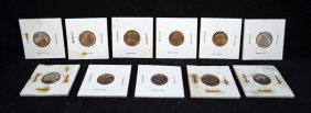 14: 11-1909 Uncirculated V.D.B lincoln Cents