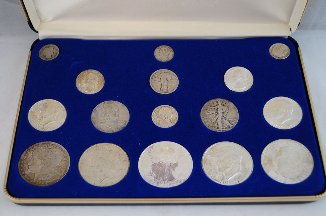 48: US 100 Years of United States Silver Coins Set - 2
