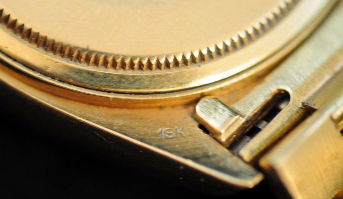 69: Rolex Men's Oyster Perpetual Day Date Watch 18K Gol - 7