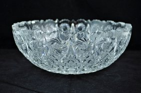 22: Brilliant Period Cut Glass Bowl