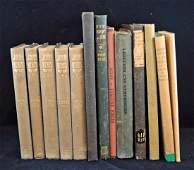 Group of 13 Poetry Books Keats FrostWordsworth