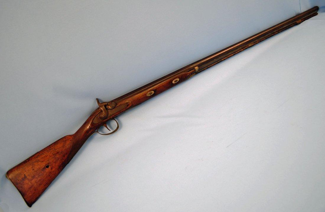 Unknown Mfr., Antique, 8 Ga., Percussion Shotgun