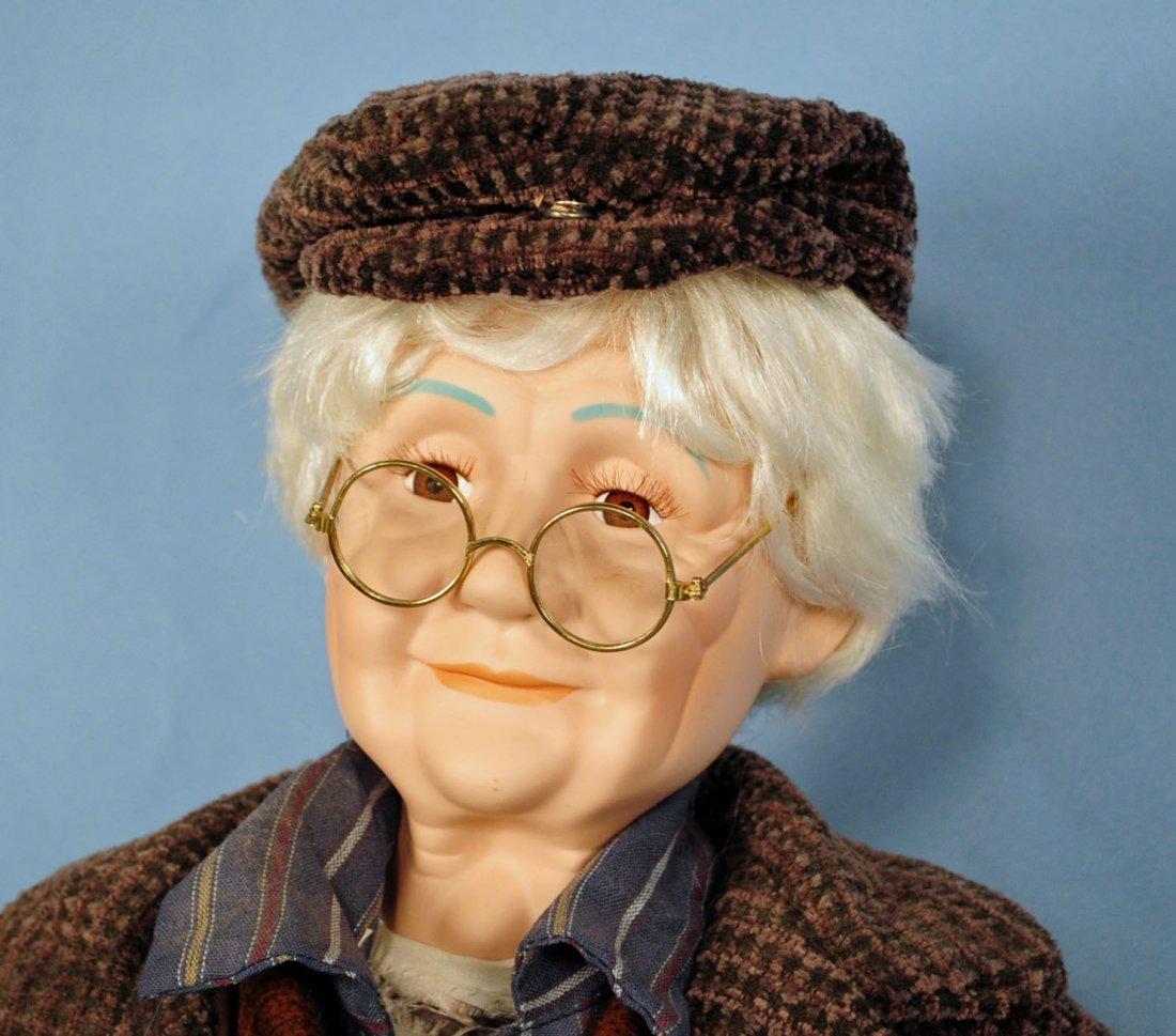 Two Goldenvale Porcelain Grandma & Grandpa Dolls - 3