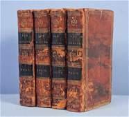 Don Quixote T Smollett New York 1814 in 4 Vol