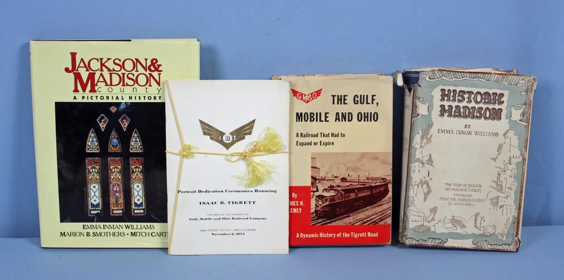 3 Madison County Tennessee Books, Historic Madison