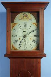 C. 1815 Southern Federal Clock, Asa Hopkins Works