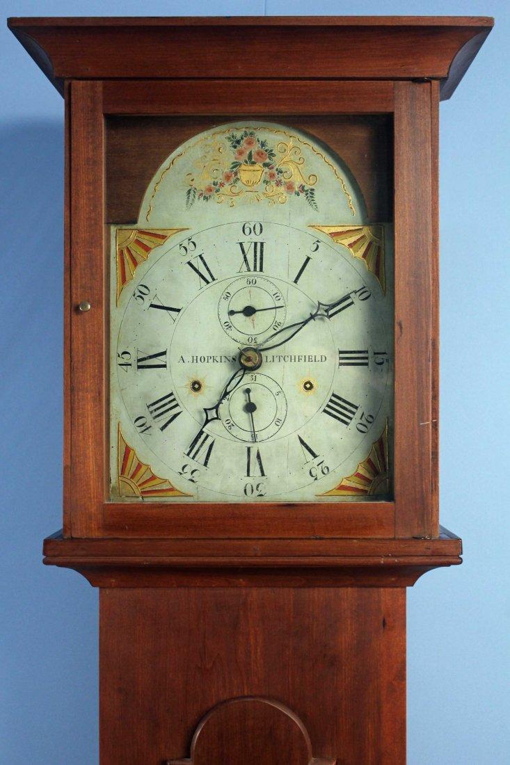 C. 1815 Southern Federal Clock, Asa Hopkins Works