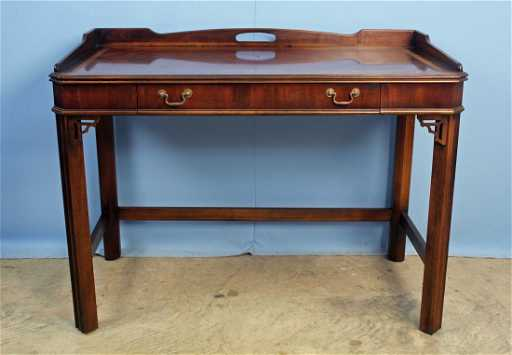 - Lane Furniture Chinese Chippendale Writing Desk