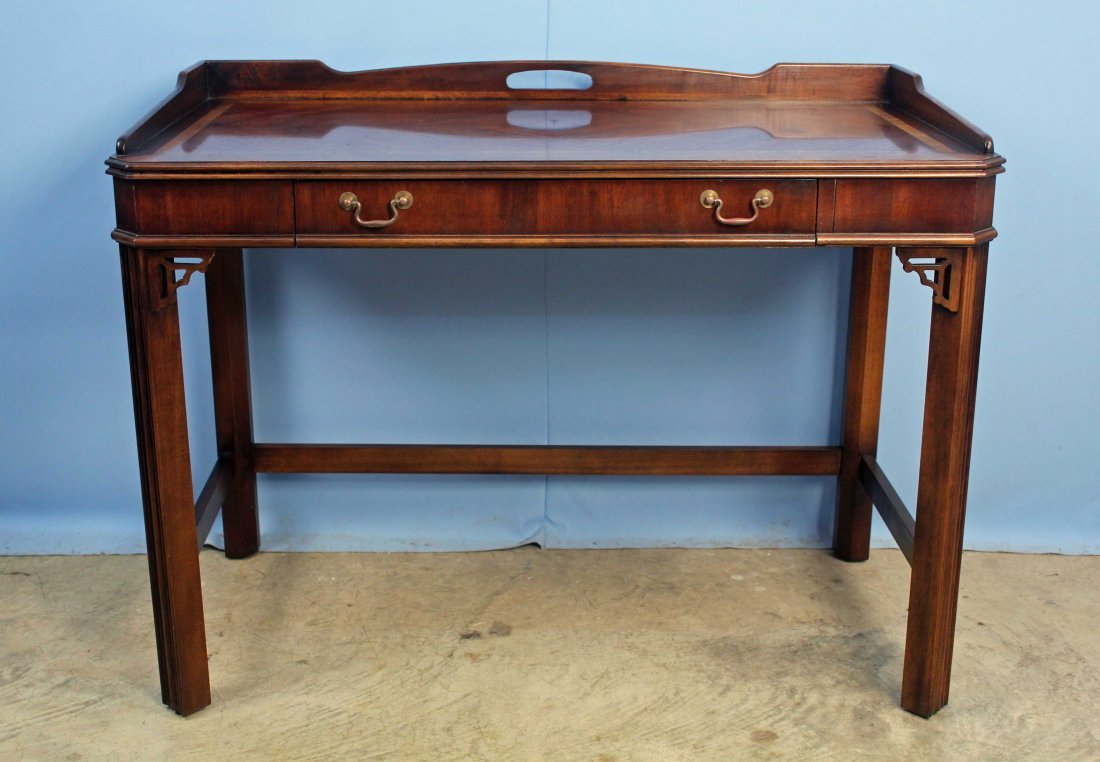 High Quality Lane Furniture Chinese Chippendale Writing Desk