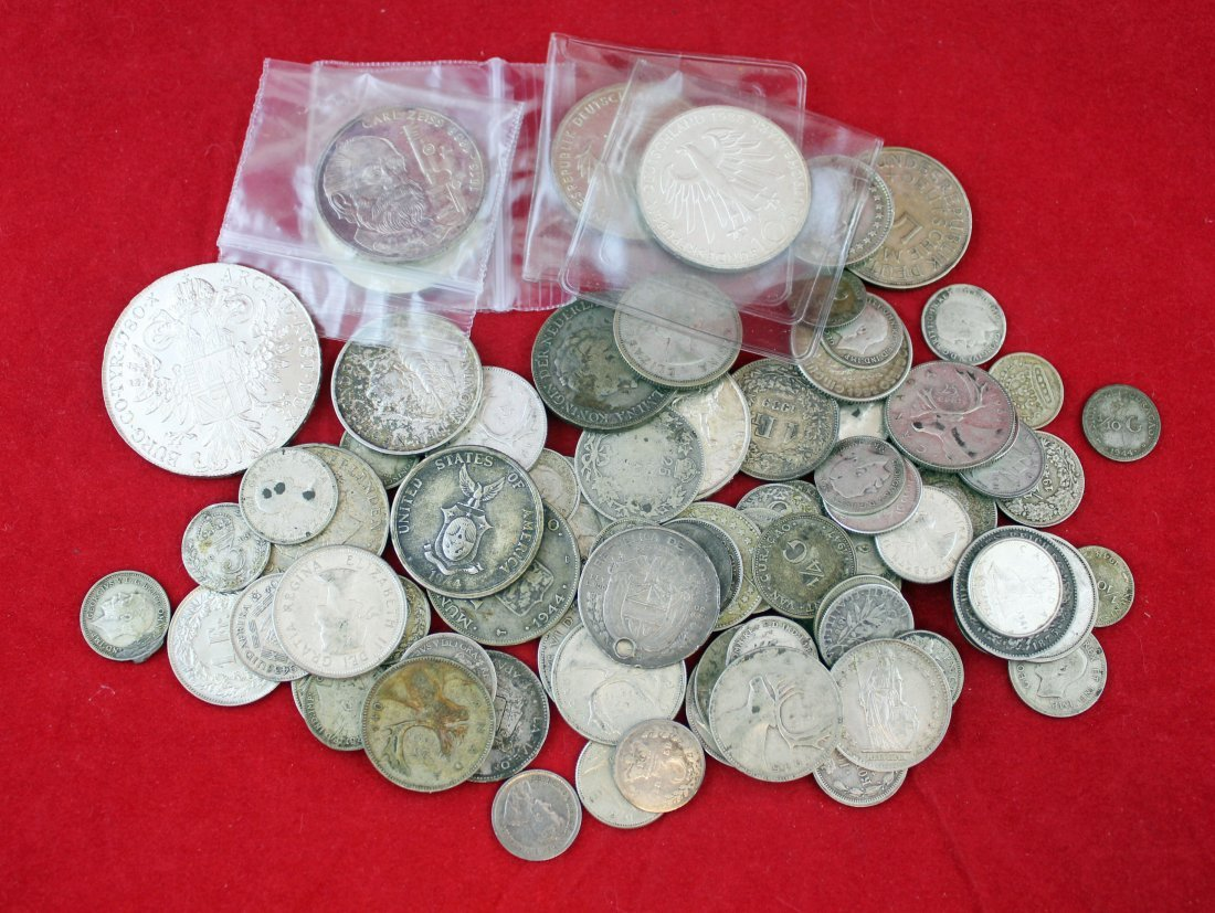 12 Troy Ounces of Various Foreign Coins