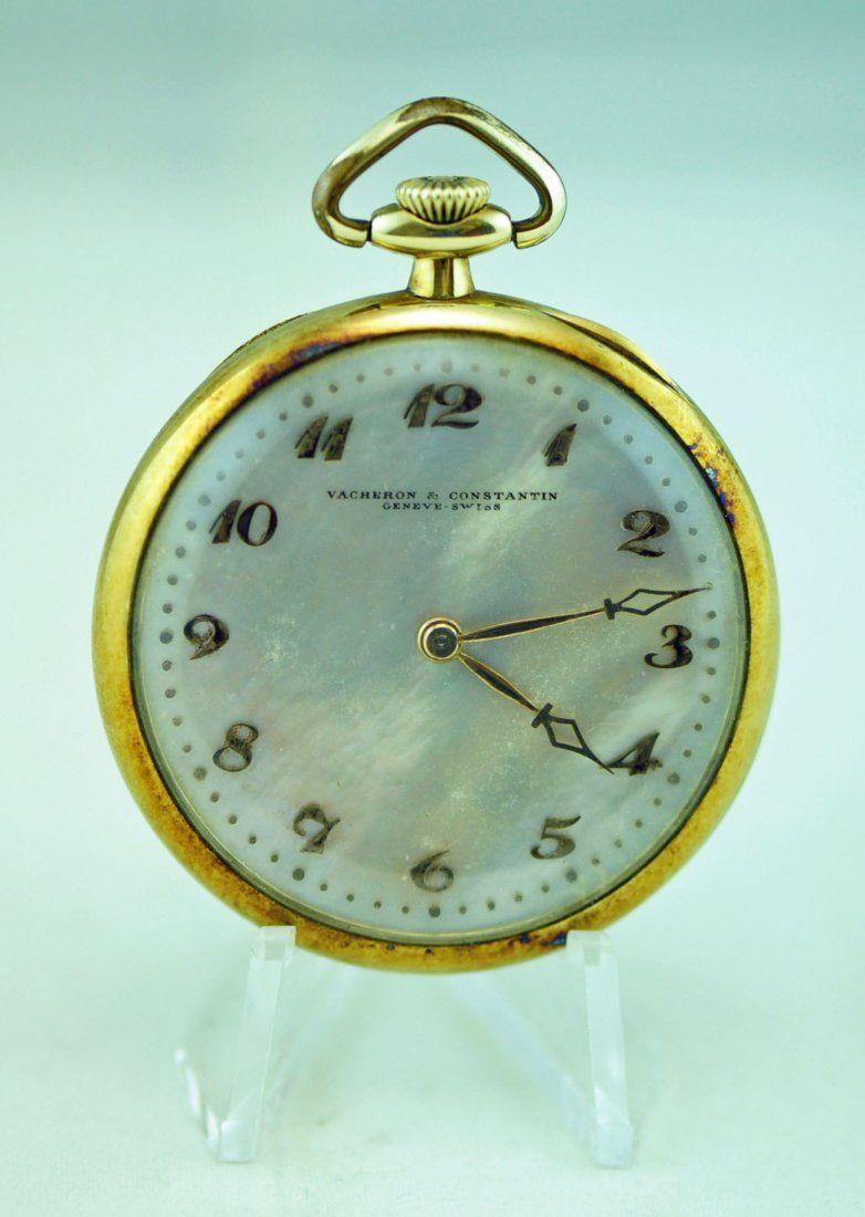 14k Gold Vacheron & Constantin 18J Pocket Watch