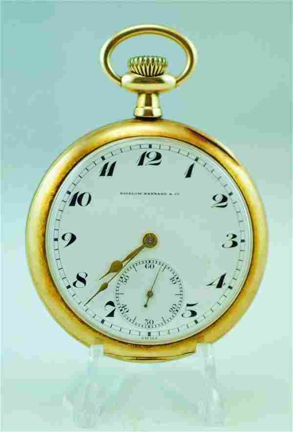Vacheron & Constantin 14k Yellow Gold Pocket Watch