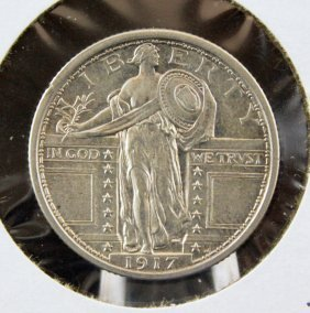 1917 - Standing Liberty Quarter Type One