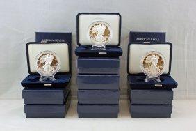 2001,2003-2006 American Eagle Silver Proof Set